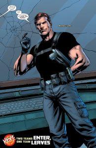 مکسول لرد در شماره اول کمیک Justice League vs. Suicide Squad (برای دیدن سایز کامل روی تصویر کلیک کنید)
