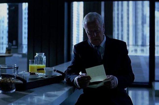 آلفرد در نامه خداحافظی خود به بتمن چه نوشت؟