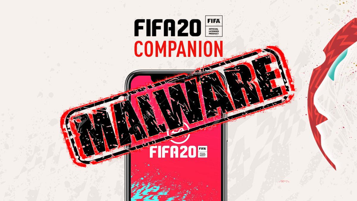 آنتی ویروس مکآفی اپلیکیشن FIFA 20 را به عنوان بدافزار میشناسد