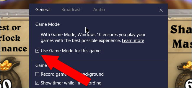 Game Mode ویندوز