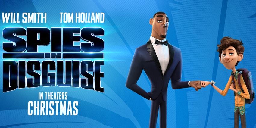 انیمیشن Spies in Disguise