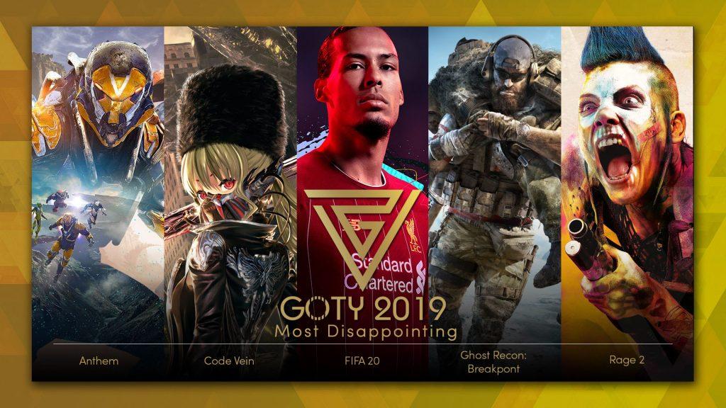 بهترین بازی 2019 - ناامیدکننده ترین