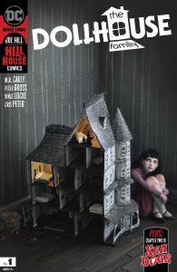 کاور شماره 1 کمیک The Dollhouse Family (برای دیدن سایز کامل روی تصویر کلیک کنید)