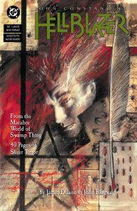 کاور شماره 1 کمیک John Constantine, Hellblazer (برای دیدن سایز کامل روی تصویر کلیک کنید)