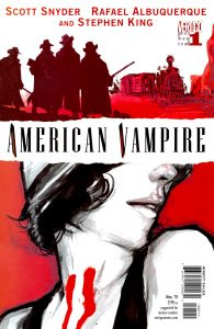 کاور شماره 1 کمیک American Vampire (برای دیدن سایز کامل روی تصویر کلیک کنید)