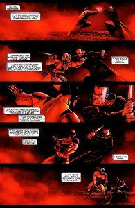 مبارزه ولورین با فرشته مرگ در کمیک Wolverine (برای دیدن سایز کامل روی تصویر کلیک کنید)