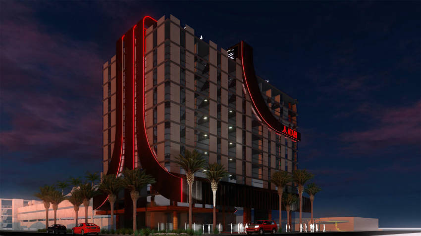 آتاری در آمریکا هتل میسازد