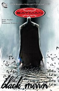 کاور کمیک Batman: The Black Mirror (برای دیدن سایز کامل روی تصویر کلیک کنید)