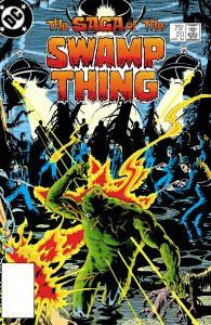کاور شماره 20 کمیک The Saga of the Swamp Thing (برای دیدن سایز کامل روی تصویر کلیک کنید)