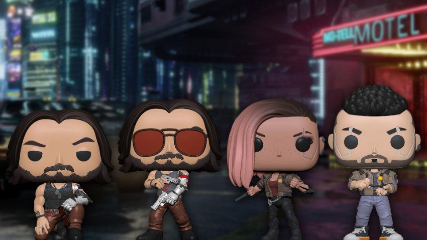 عروسکهای فانکوپاپ Cyberpunk 2077 در راهند