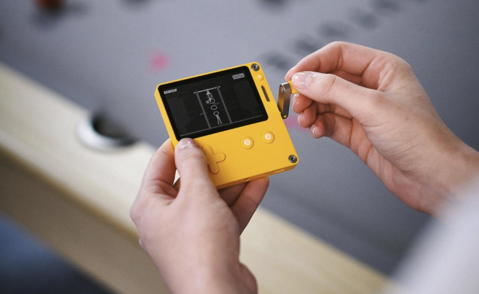 کاربران کنسول دستی Playdate میتوانند برای آن بازی بسازند
