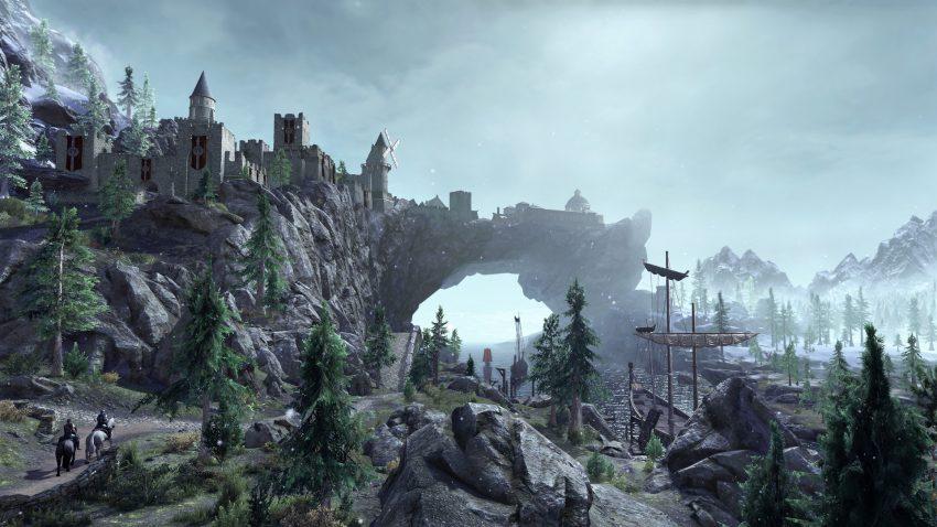 بسته الحاقی بعدی The Elder Scrolls Online بازیکنان را به اسکایریم میبرد