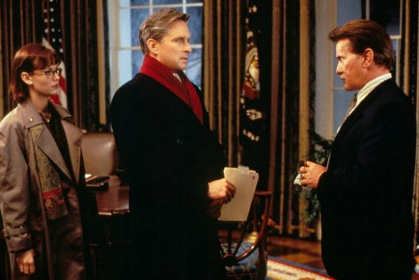 THE AMERICAN PRESIDENT فیلم سیاسی رمانتیک