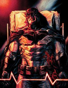لباس بتمن در کمیک Batman: Damned (برای دیدن سایز کامل روی تصویر کلیک کنید)