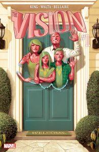 کاور شماره 1 کمیک The Vision (برای دیدن سایز کامل روی تصویر کلیک کنید)