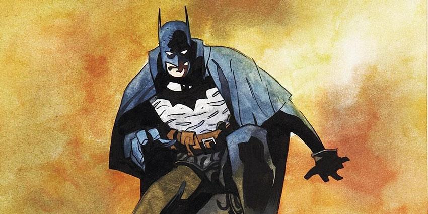 نمایی از لباس بتمن در کمیک Gotham by Gaslight