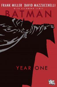 کاور کمیک Batman: Year One (برای دیدن سایز کامل روی تصویر کلیک کنید)