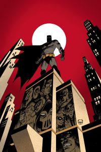 کاور شماره 1 کمیک Batman: The Adventures Continue (برای دیدن سایز کامل روی تصویر کلیک کنید)