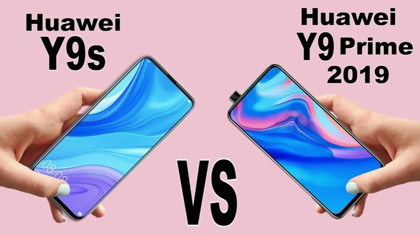 مقایسه قابلیتهای اصلی موبایلهای هواوی Y9 Prime 2019 و هواوی Y9S