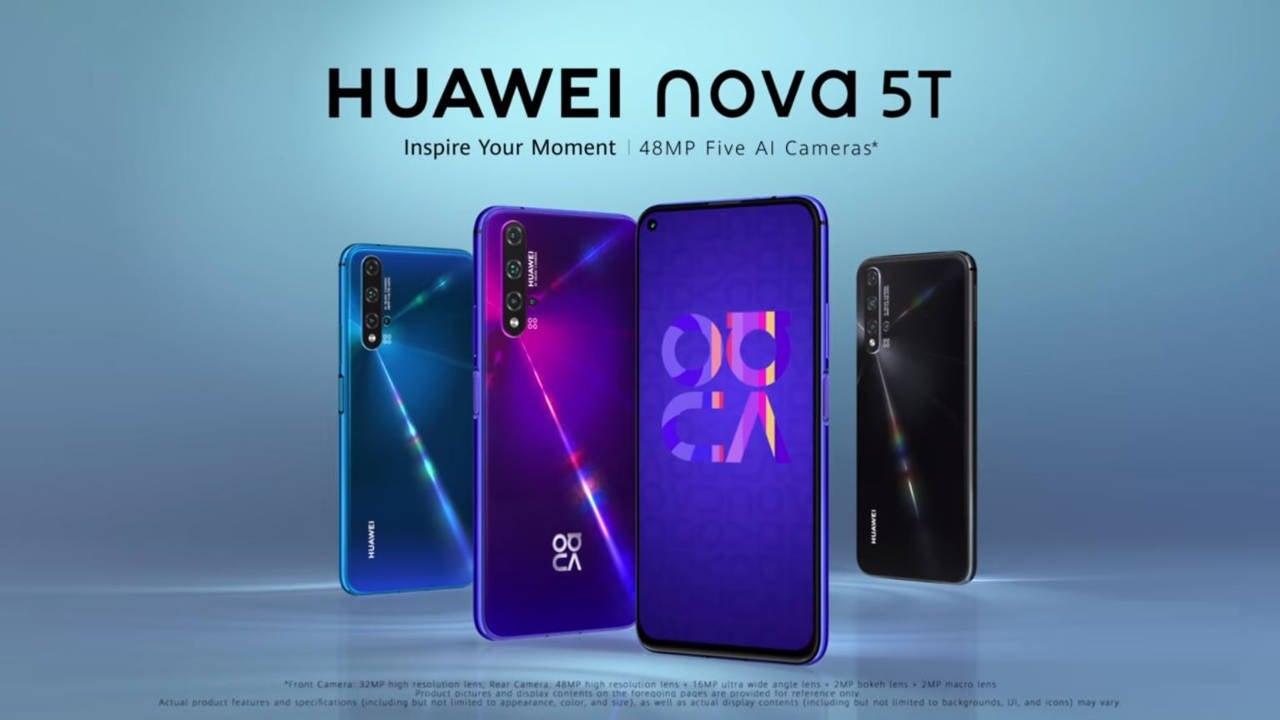 گوشی میانرده Huawei Nova 5T در بازار ایران عرضه شد