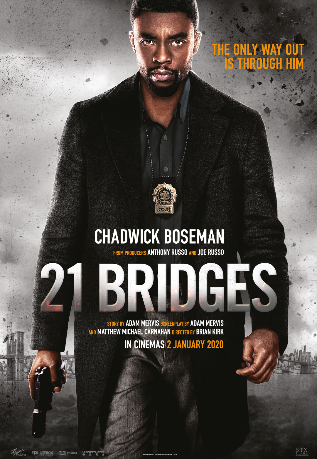 نقد فیلم 21Bridges