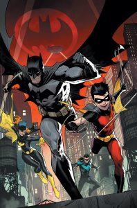 کاور متنوع شماره 1 کمیک Batman: The Adventures Continue (برای دیدن سایز کامل روی تصویر کلیک کنید)