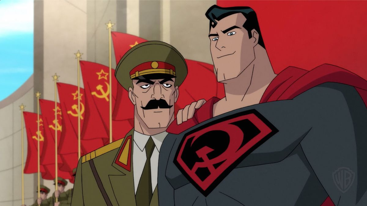 نقد انیمیشن Superman Red Son