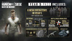 Year 5 Pass بازی Rainbow Six Siege در دسترس قرار گرفت