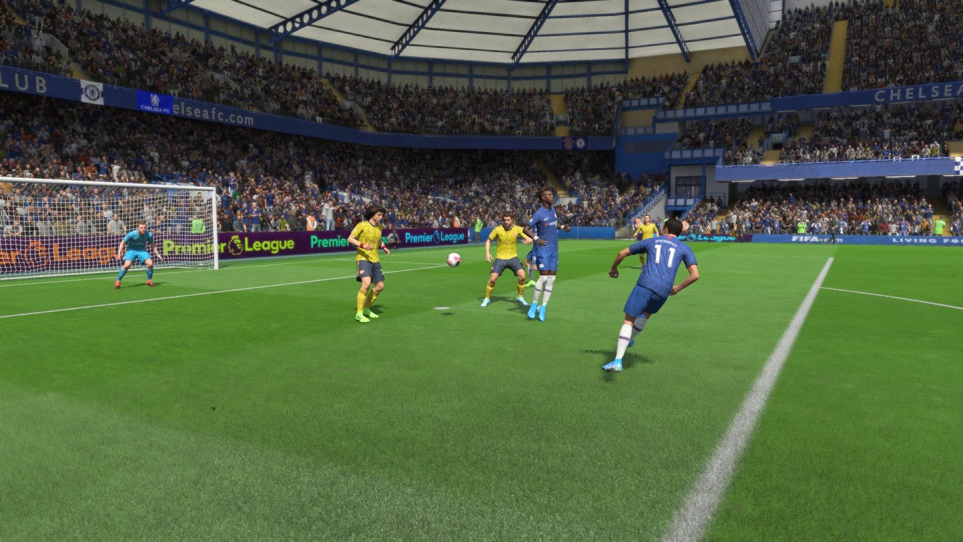 حمله کردن در FIFA 20
