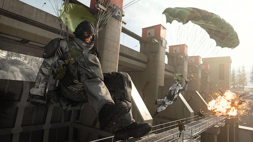 04B PARACHUTING TOUT ویجیاتو: ۱۰ کاری که نمیدانستید میتوانید در Call of Duty: Warzone انجام دهید اخبار IT