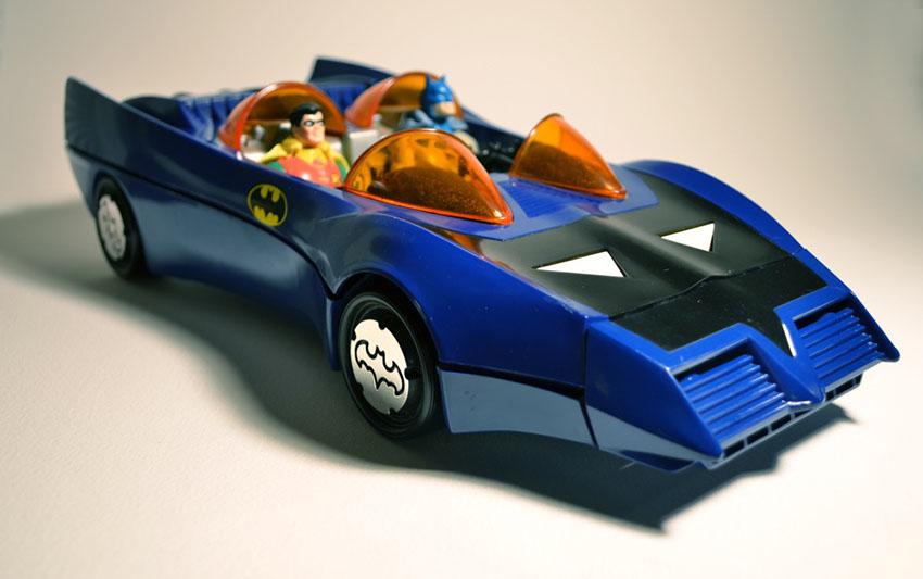 بتموبیل در مجموعه اسباب بازیهای The Super Powers Collection
