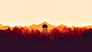 بازی Firewatch پیادهروی را به یک تجربه لذتبخش تبدیل میکند