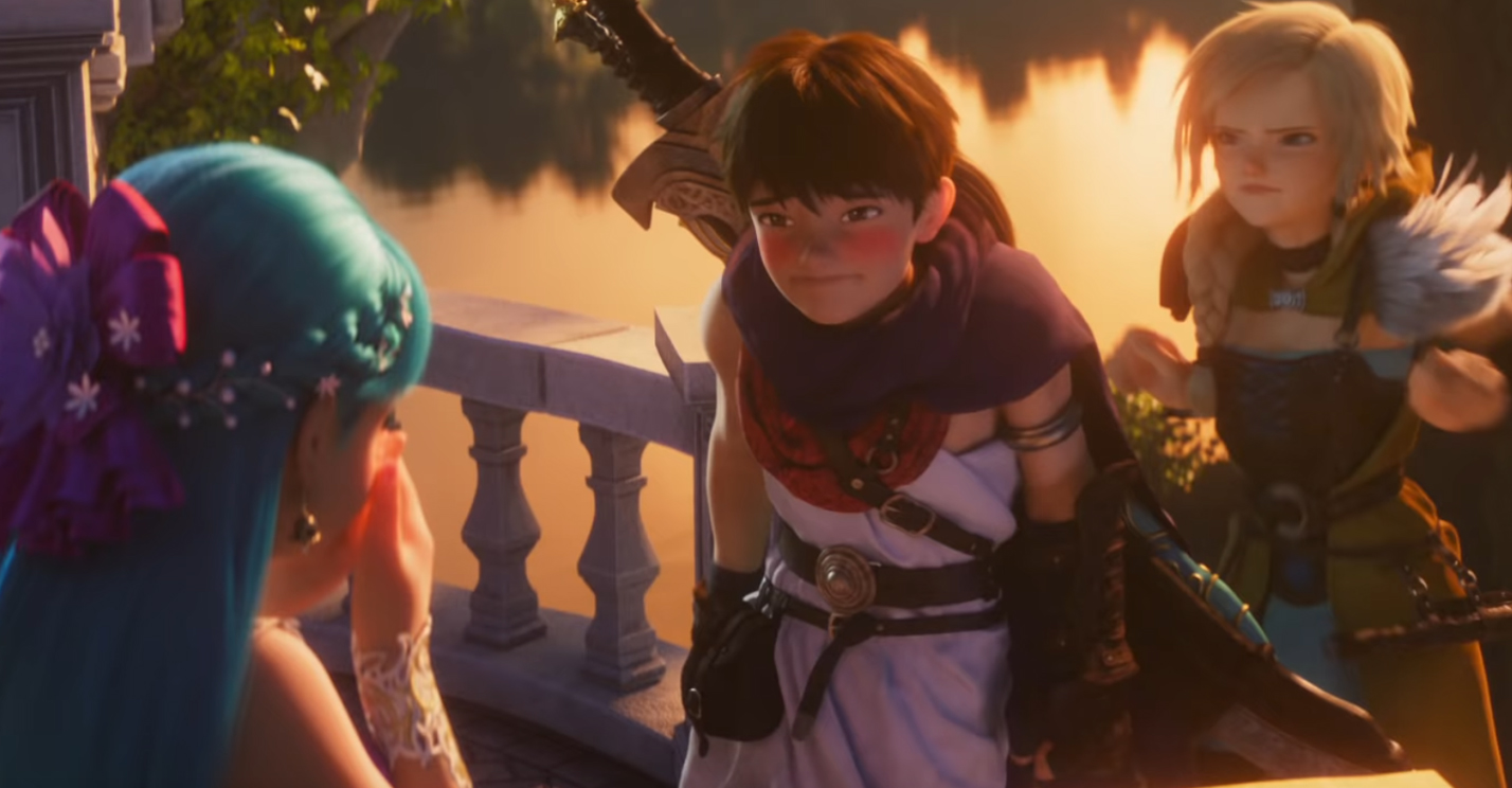 نقد انیمیشن Dragon Quest: Your Story