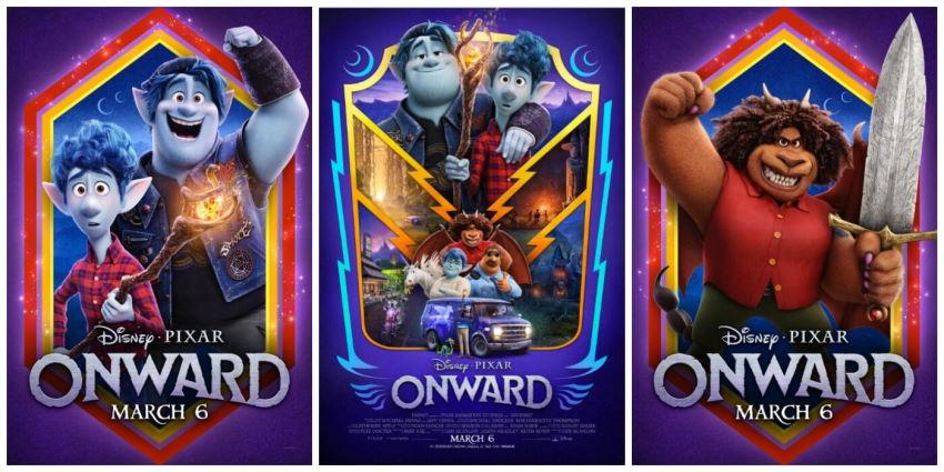 نقد انیمیشن Onward
