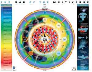 نقشه دنیاهای موازی دیسی