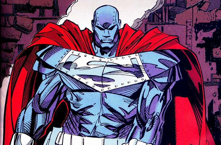 استیل - یکی از چهار جایگزین سوپرمن