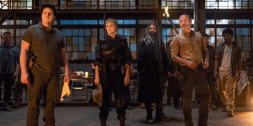 در The Walking Dead ریک رهبر بهتری است یا مدیسون یوجین کارول