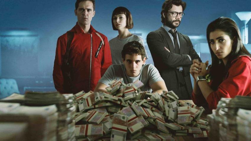 فصل چهارم Money Heist