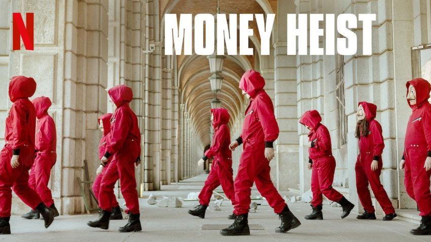 فصل پنجم Money Heist
