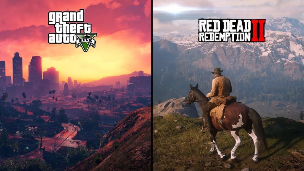 فروش Red Dead Redemption 2 و GTA V به ترتیب از ۳۱ و ۱۳۰ میلیون نسخه گذشت