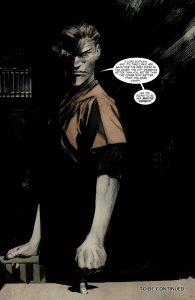 جوکر عاقل در کمیک Batman: White Knight (برای دیدن سایز کامل روی تصویر کلیک کنید)