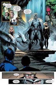 مگنیتو در بهشت جهشیافتهها - البته تصویر از کمیک House of M گرفته شده است (برای دیدن سایز کامل روی تصویر کلیک کنید)
