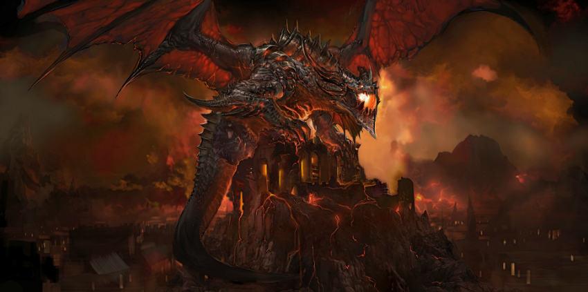 اژدها Death Wing در وارکرفت