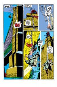 تلاش نافرجام اسپایدرمن در نجات معشوقهاش (برای دیدن سایز کامل روی تصویر کلیک کنید)