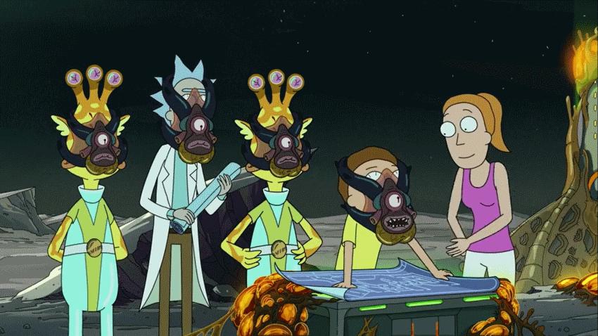 بررسی قسمت هفتم فصل چهارم Rick and Morty پیشرفت