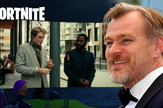 چگونه فورتنایت موفق شد تریلر فیلم Tenet را نمایش دهد؟