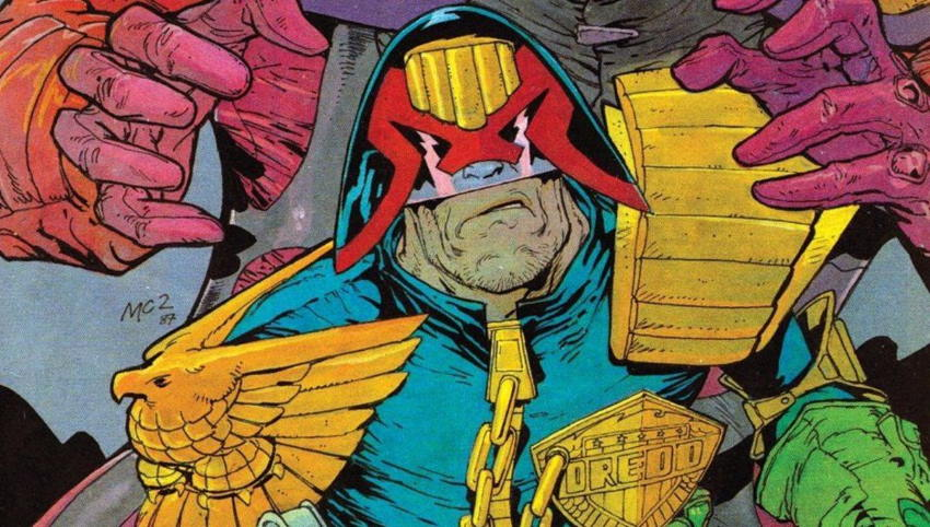 کمیک رایگان Judge Dredd