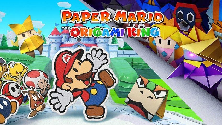 بازی Paper Mario: The Origami King با انتشار یک تریلر معرفی شد