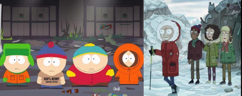 بررسی قسمت هشتم فصل چهارم Rick and Morty ساوث پارک
