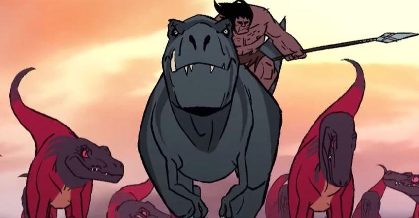 نقد انیمیشن Primal: Tales of Savagery